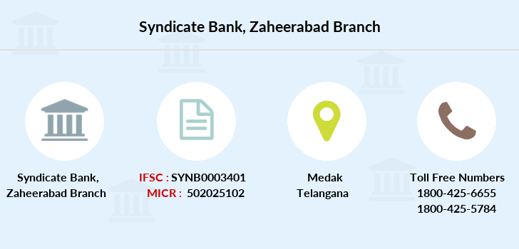 Syndicate-bank Zaheerabad branch