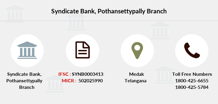 Syndicate-bank Pothansettypally branch
