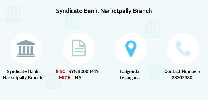 Syndicate-bank Narketpally branch