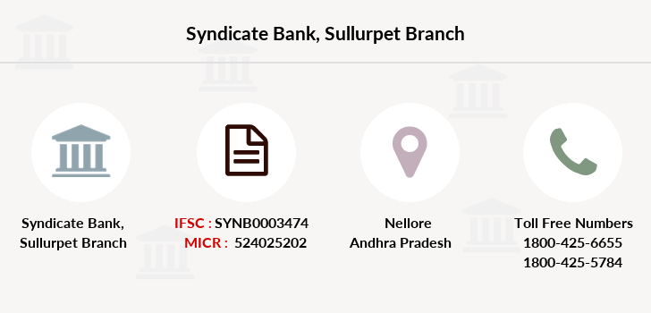 Syndicate-bank Sullurpet branch