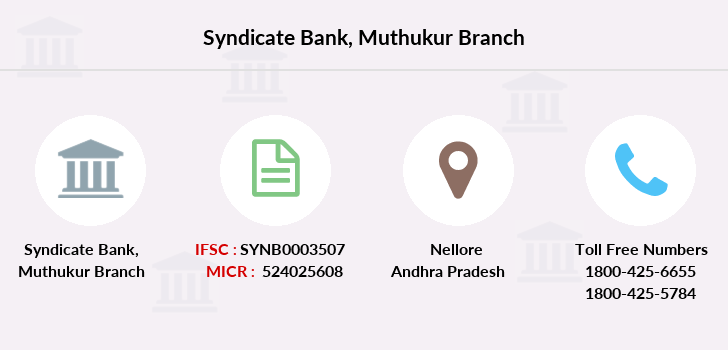 Syndicate-bank Muthukur branch