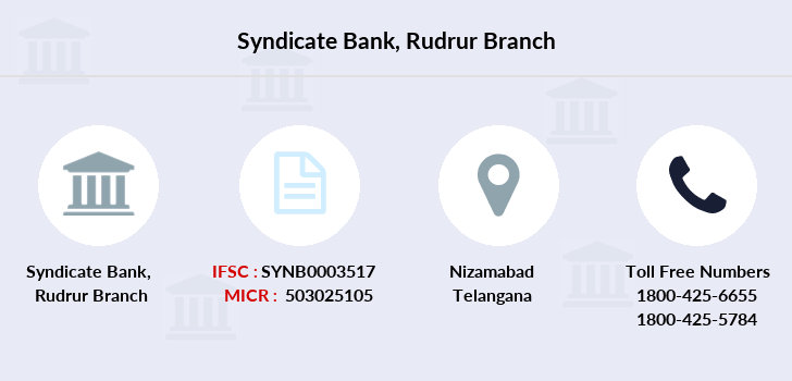 Syndicate-bank Rudrur branch
