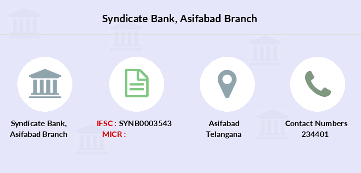 Syndicate-bank Asifabad branch
