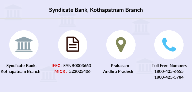 Syndicate-bank Kothapatnam branch
