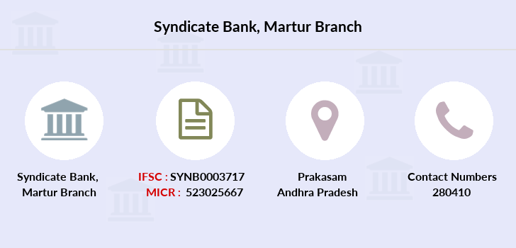 Syndicate-bank Martur branch