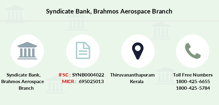 Syndicate-bank Brahmos-aerospace branch