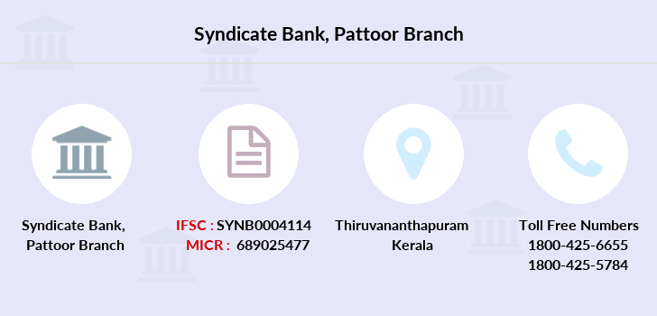 Syndicate-bank Pattoor branch