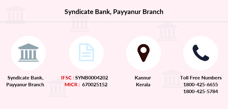 Syndicate-bank Payyanur branch