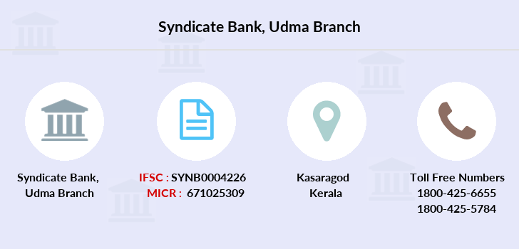 Syndicate-bank Udma branch