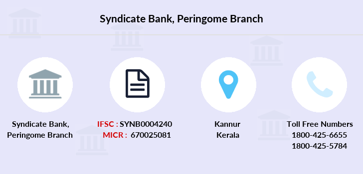 Syndicate-bank Peringome branch
