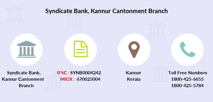 Syndicate-bank Kannur-cantonment branch