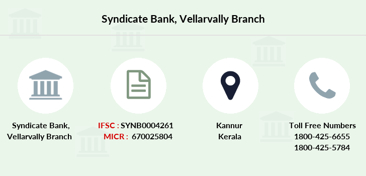 Syndicate-bank Vellarvally branch