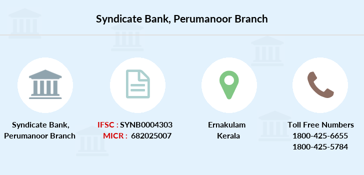 Syndicate-bank Perumanoor branch