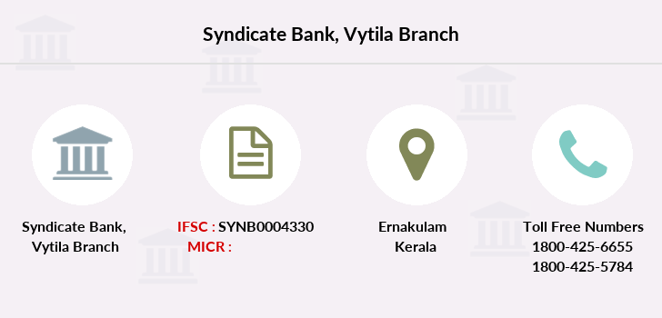 Syndicate-bank Vytila branch