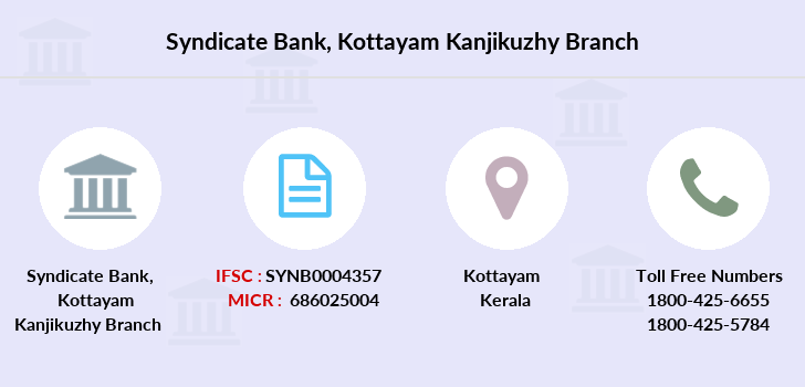Syndicate-bank Kottayam-kanjikuzhy branch