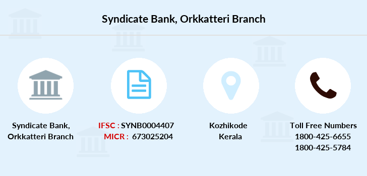 Syndicate-bank Orkkatteri branch