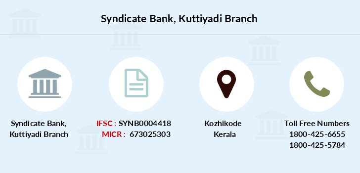 Syndicate-bank Kuttiyadi branch
