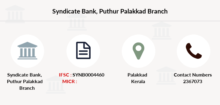 Syndicate-bank Puthur-palakkad branch
