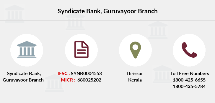 Syndicate-bank Guruvayoor branch