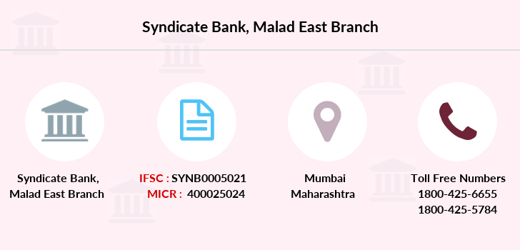 Syndicate-bank Malad-east branch