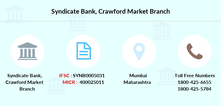 Syndicate-bank Crawford-market branch