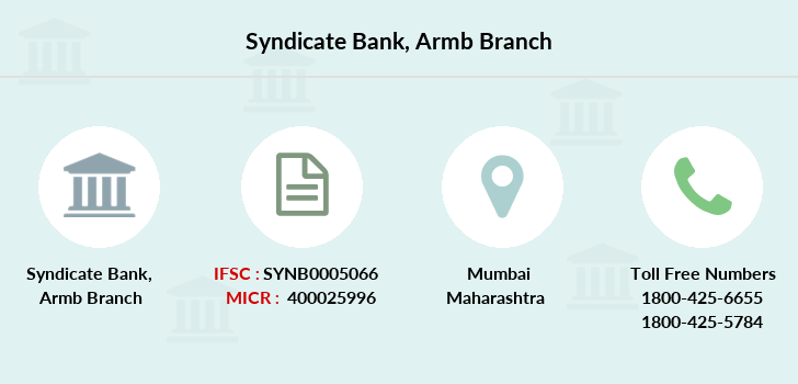 Syndicate-bank Armb branch