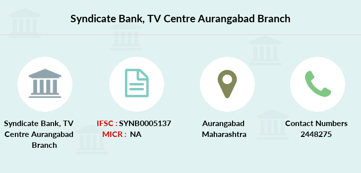 Syndicate-bank Tv-centre-aurangabad branch