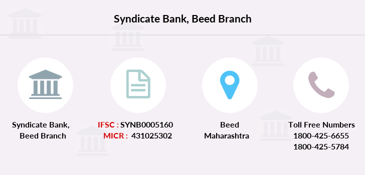 Syndicate-bank Beed branch