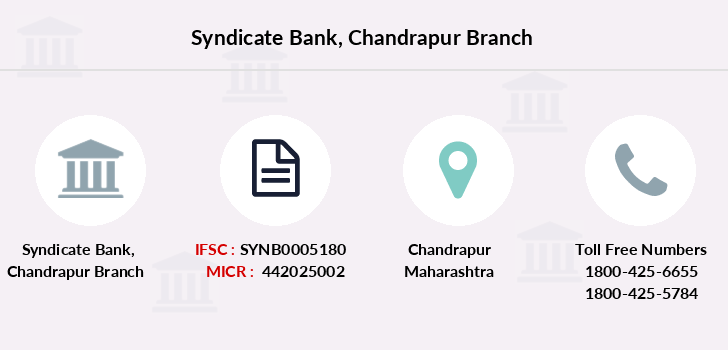 Syndicate-bank Chandrapur branch