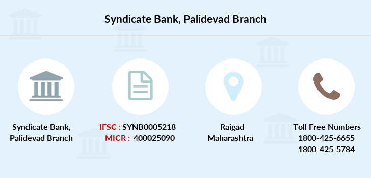 Syndicate-bank Palidevad branch