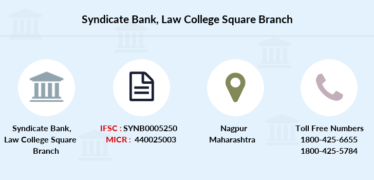 Syndicate-bank Law-college-square branch