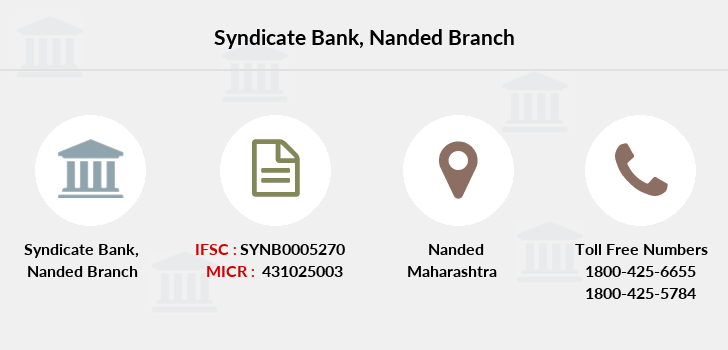 Syndicate-bank Nanded branch