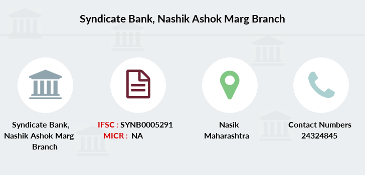 Syndicate-bank Nashik-ashok-marg branch