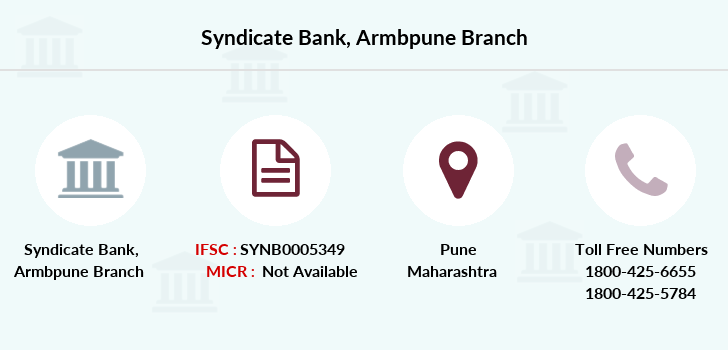 Syndicate-bank Armbpune branch