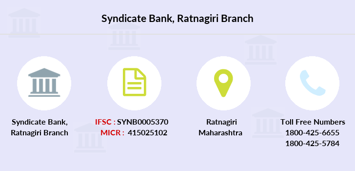 Syndicate-bank Ratnagiri branch