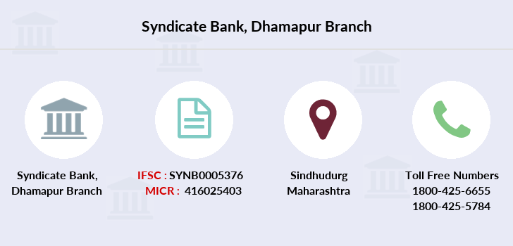 Syndicate-bank Dhamapur branch