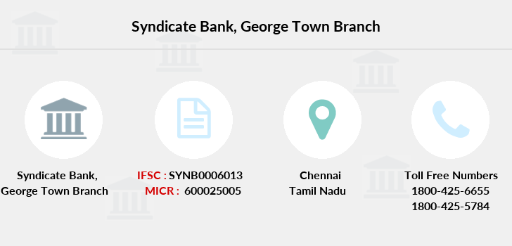 Syndicate-bank George-town branch