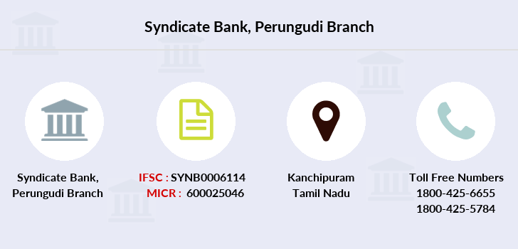 Syndicate-bank Perungudi branch