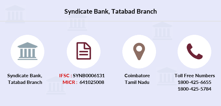 Syndicate-bank Tatabad branch
