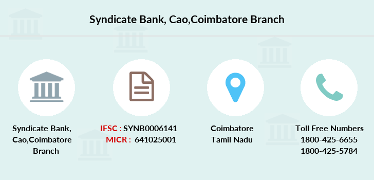 Syndicate-bank Cao-coimbatore branch