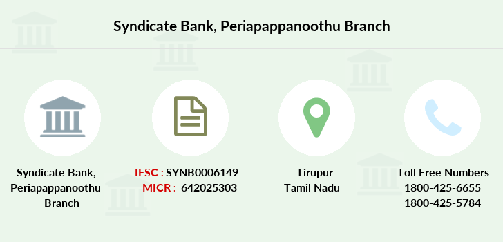 Syndicate-bank Periapappanoothu branch
