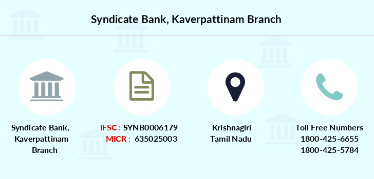 Syndicate-bank Kaverpattinam branch