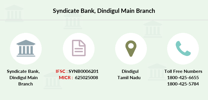 Syndicate-bank Dindigul-main branch