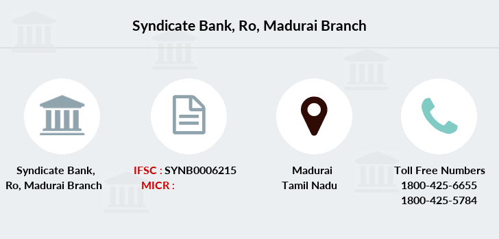 Syndicate-bank Ro-madurai branch