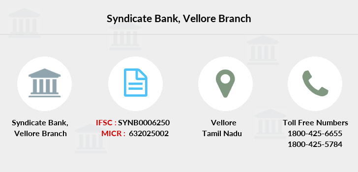 Syndicate-bank Vellore branch