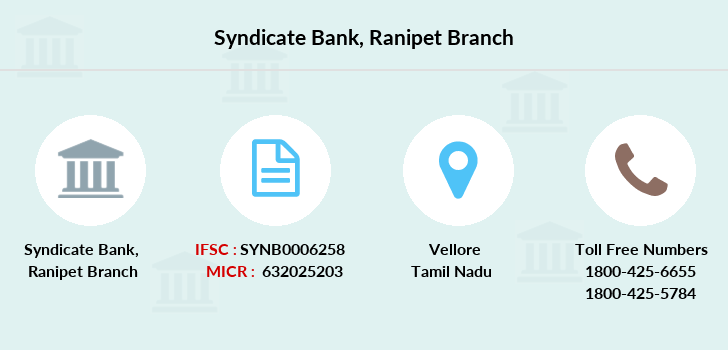 Syndicate-bank Ranipet branch
