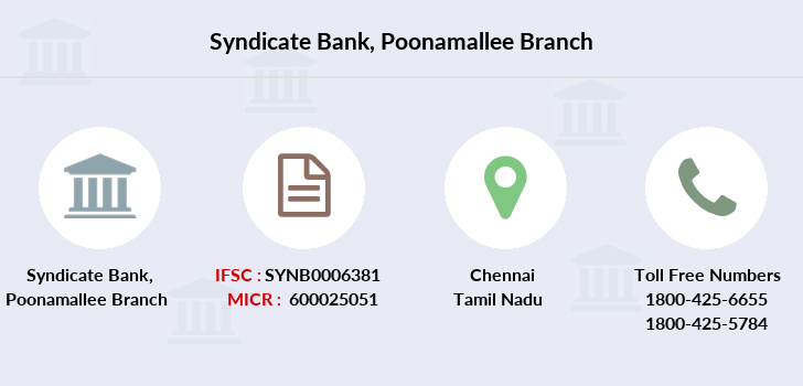 Syndicate-bank Poonamallee branch