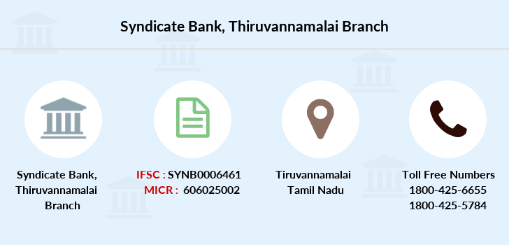 Syndicate-bank Thiruvannamalai branch