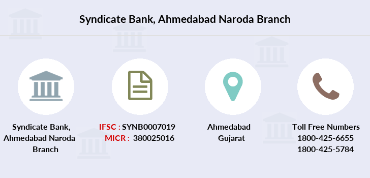 Syndicate-bank Ahmedabad-naroda branch
