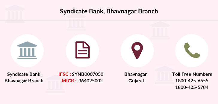 Syndicate-bank Bhavnagar branch